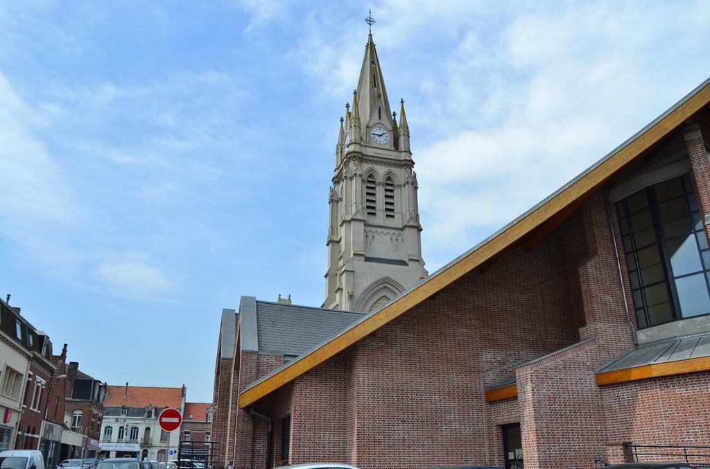 Parish Church Saint-Vaast, French Heritage monument to La bassee.