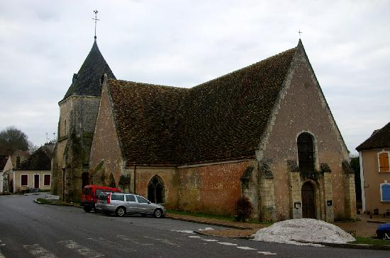 Saint-Martin Church, French Heritage monument to Preaux.