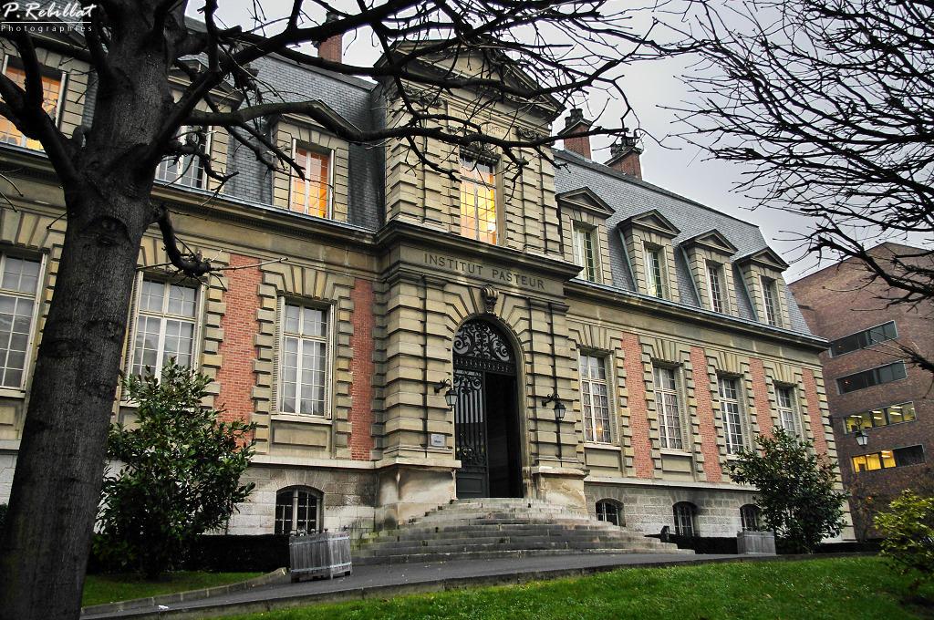 Institut Pasteur à Paris 15eme arrondissement.