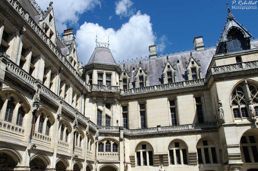 Château de Pierrefonds à Pierrefonds.