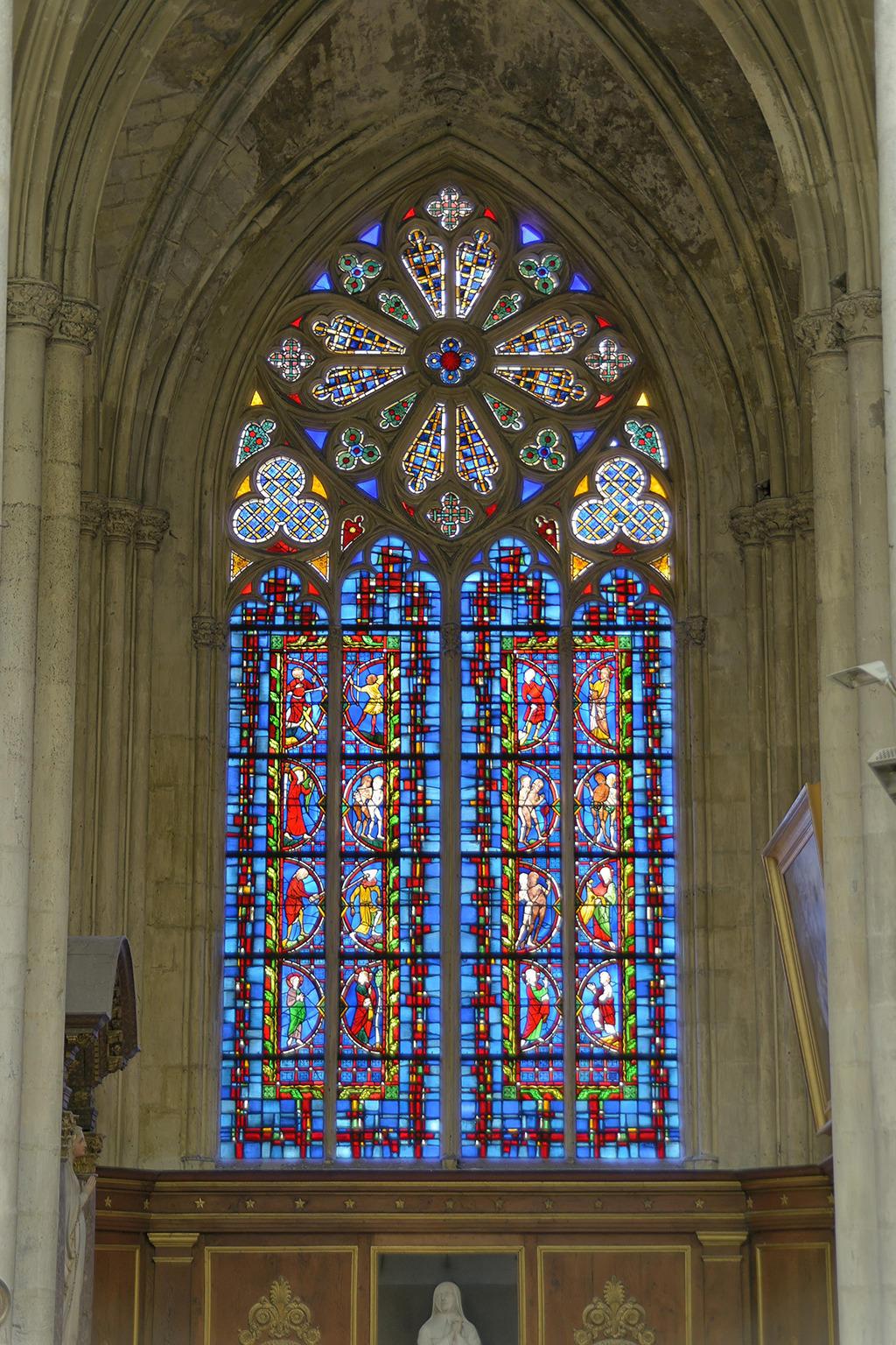 Cathédrale Saint-Gatien à Tours.