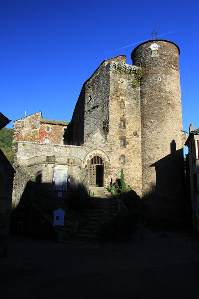 Castle, French Heritage monument to Coupiac.