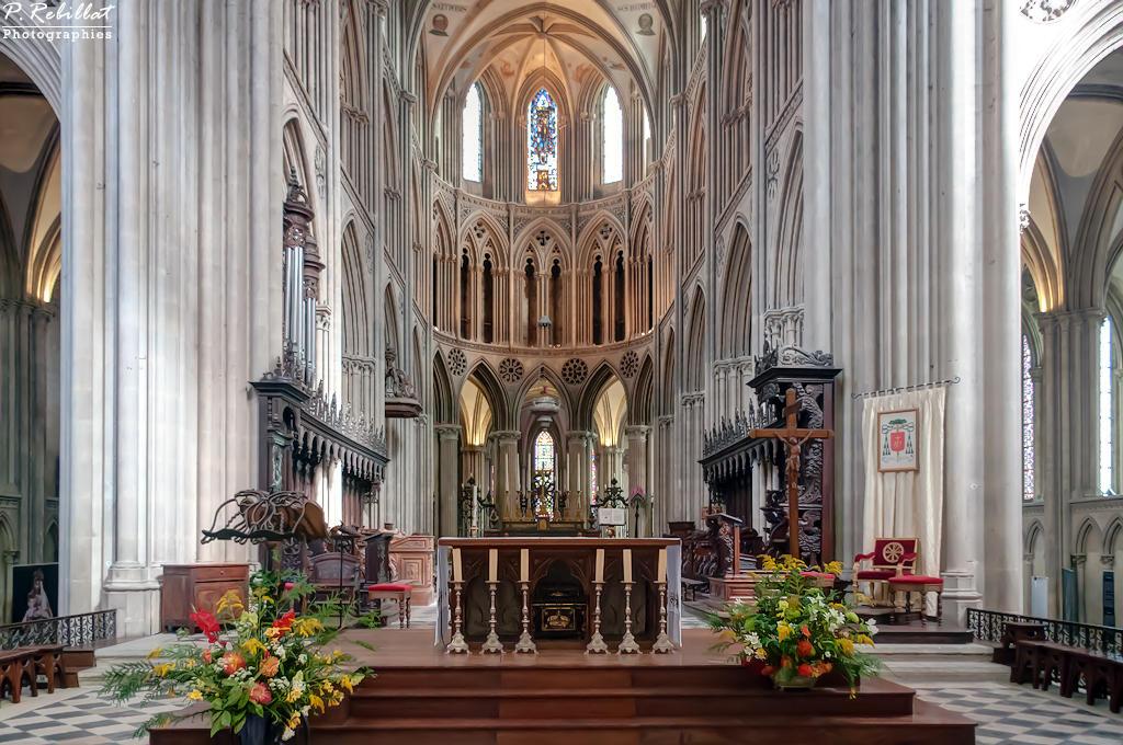 Cathédrale Notre-Dame à Bayeux.